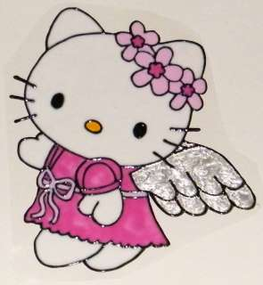WINDOW COLOR Fensterbild Bild Hello Kitty Engel