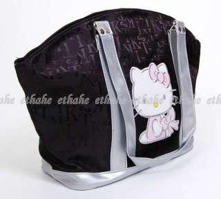 Hello Kitty Tasche Handtasche Shopper Schwarz Neu 8E70