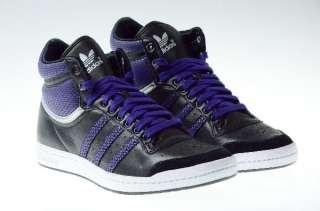 Adidas Top Ten Hi Sleek Damen Schuhe schwarz lila Neu