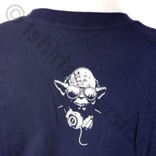 NEW Funny DJ Yoda Starwars T Shirt / Cotton Tshirt