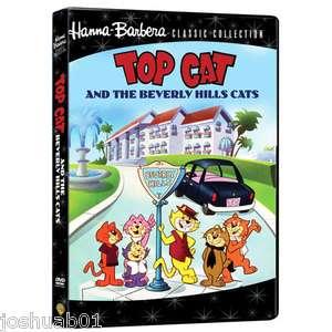NEW dvd TOP CAT & the Beverly Hills Cats Hanna Barbera