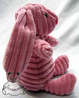 Pink Rabbit Jellycat Plush Toy Stuffed Animal Corduroy BNWT Sm