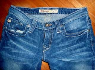 Buckle Big Star Low Rise Stretch Casey K. Bootcut Jeans euc 26x29.5