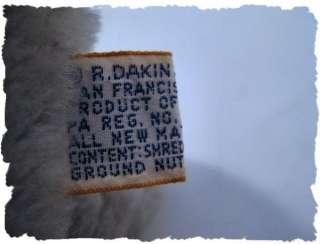 Vintage 1978 R. Dakin & Co. Mini Raccoon Plush CUTE