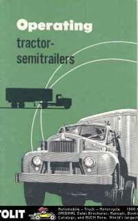1957 Mack Tractor Semi Trailer Truck Brochure