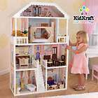 DOLL HOUSE/MANSION w/FURNITURE SET   FITS BARBIE WOODEN/WOOD