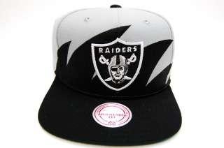 Oakland Raiders Sharktooth M&N Snapback NFL Hockey Mens Cap Hat