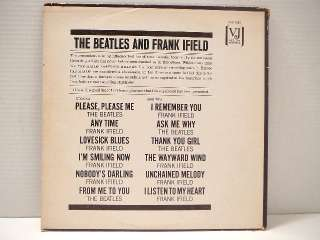 Vinyl Record Album The Beatles & Frank Ifield On Stage Jolly What Vee