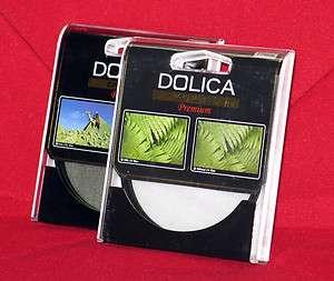 Dolica CF K77 77mm UV & Circular Polarizer Filter Kit 0689076155274
