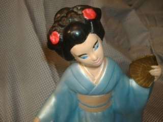 CERAMIC Mallory Studios JAPANESE GEISHA GIRLS FIGURES