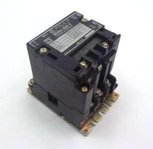 Square D Size 0 3 Phase Motor Start 3/5hp 600V NICE!