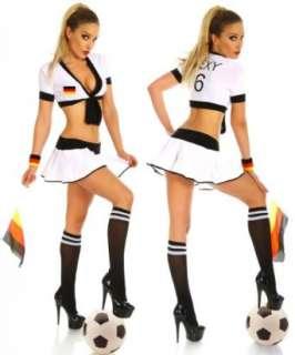 LH Dessous  11502 L XL.BIG SET Sexy Stürmer Nationalelf Outfit