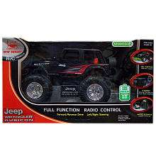 New Bright 114 Scale Radio Control Jeep Wrangler with Battery and