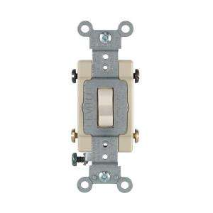 20 Amp 4 Way Light Almond Preferred Toggle Switch R66 0CSB4 2TS at The
