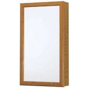 American Classics 15 in. W Surface Mount Framed Mirrored Swing Door