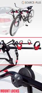 Bike Rack Trunk Mount Carrier SUV Cars Wagon Deluxe Cycling