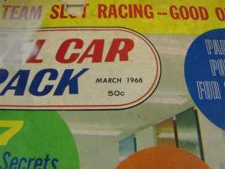 Vintage Model Car & Track March 1966 Magazine Vol 3. #3