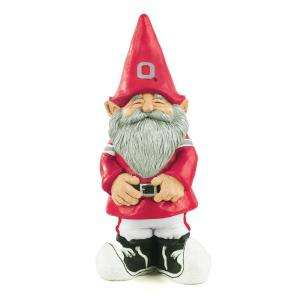 11 1/4 In. Ohio State University Garden Gnome 54088 at The Home Depot