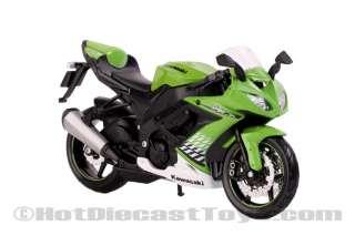 Maisto Kawasaki Ninja ZX 10R Green 112 Scale Bike