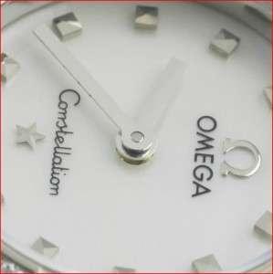 Omega Constellation White Mother of Pearl Original Diamond Mini Ladies