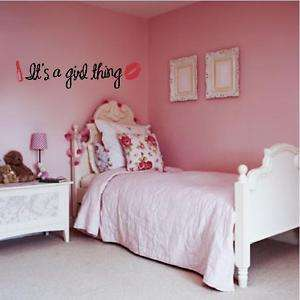Its a girl thing vinyl letters buy 2 get 3rd for FREE