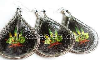 WholeSale 125 Pairs Rasta Earrings,mixed designs Inkasecrets