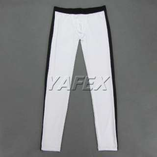NEW SEXY Mens Tight smooth thermal Underwear Long John pants Leggings