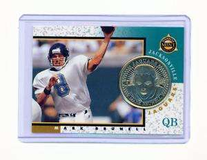 RARE 1997 PINNACLE MINT MARK BRUNELL SILVER COIN #3