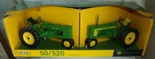 NEW ERTL John Deere Tractor Set 50 / 520 116 Scale