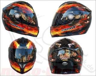 SHARK RSI Fireshark Motorradhelm Helm Sport Touring XL