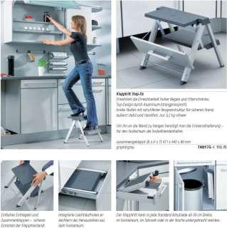 Hailo Klapptritt Step fix das Original Leiter Küche NEU