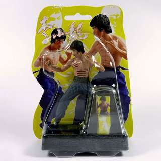 Figure set 4 Bruce Lee Enter the Dragon Solar power Set