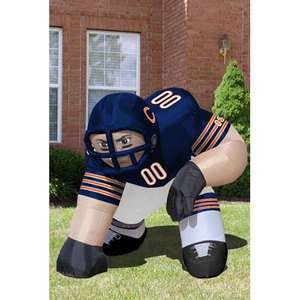Chicago Bears NFL 5 Inflatable Bubba Player Blow Up Lawn Figure