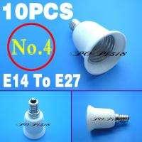 10 Pieces Standard E14 E27 GU10 MR16 Base Adapter Bulb Lamp Light