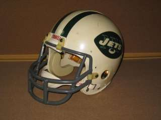 JOE NAMATH Signed New York Jets Football Helmet HOF Broadway Joe