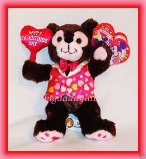 DISNEY VALENTINES DAY MICKEY MOUSE DUFFY BROWN BEAR