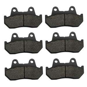 Rear Carbon Kevlar Brake Pads   1983 Honda GL 1100 Goldwing Interstate