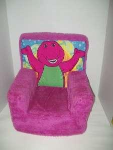 Plush Foam Barney Chair