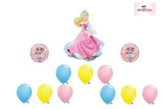 Beauty Happy Birthday Party Balloon Set Lot Mylar Latex Bouquet