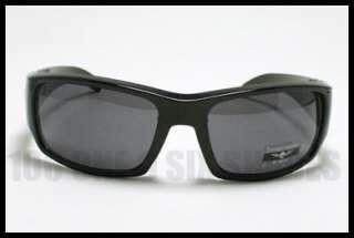 MENS Casual Sunglasses Dark BLACK Skull Logo Shades