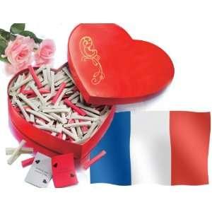 Love Heart   365 mal Ich liebe Dich auf Französisch