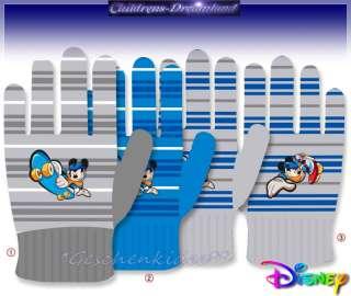 Disney MICKY MAUS Mickey Mouse HANDSCHUHE FINGERHANDSCHUHE Blau