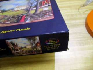 Linda Nelson Stocks 550 pc puzzle Uncle Percys Peep Show   dogs