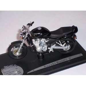 SUZUKI BANDIT N SCHWARZ 1/18 SOLIDO MODELLMOTORRAD MODELL MOTORRAD