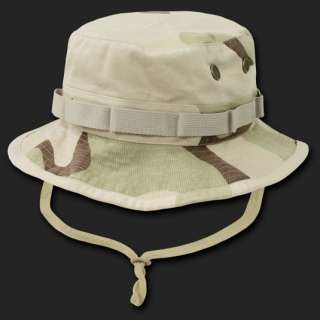 Desert Military Boonie Hunting Army Fishing Bucket Jungle Cap Hat Hats