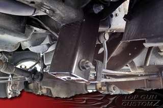 99 04 Ford F250/F350 Super Duty Leveling Lift Shackles Kit