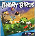ANGRY BIRDS 24 PC PUZZLE RED BLACK BLUE BIRD PIGS EGG N