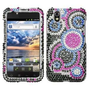 LG Marquee Diamond Crystal Bling Protector Case   Bubble