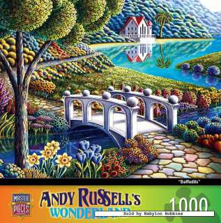 picture 2 of Masterpieces 1000 pieces jigsaw puzzle: Andy Russell