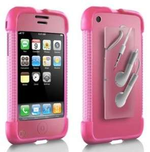 PINK DLO JAM JACKET SILICONE CASE APPLE IPHONE 2G 3G S